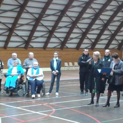 Tournoi intergénérationnel de boccia - BERCK octobre 2012