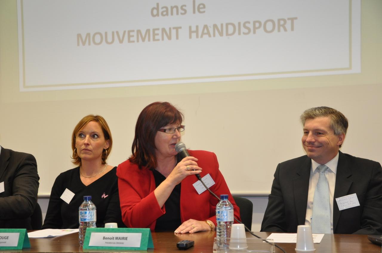 Suzanne GUMINSKI - Présidente CDH62