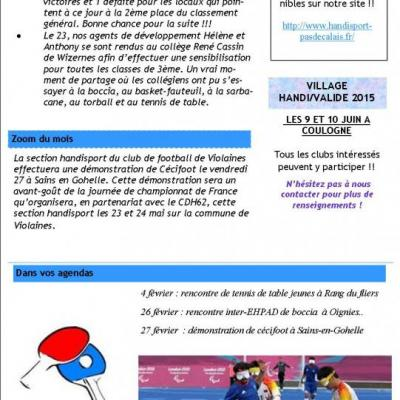 Bulletins d'informations