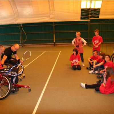 Projet Solidarité Olympisme - Arras - octobre 2012