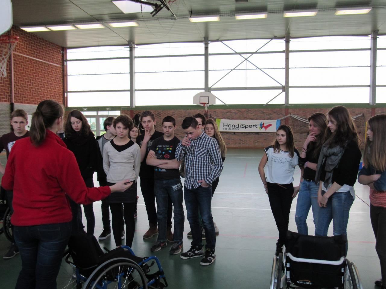 Explication du basket fauteuil