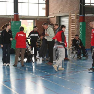 Compétition Boccia Adultes Oignies - 17 avril 2014