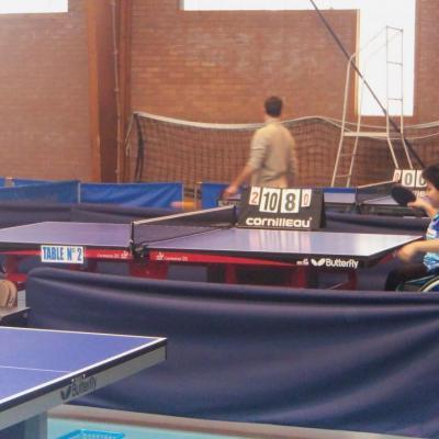 Championnat de France Tennis de Table Jeunes handisport - 4 mai 2013 - Berck/mer