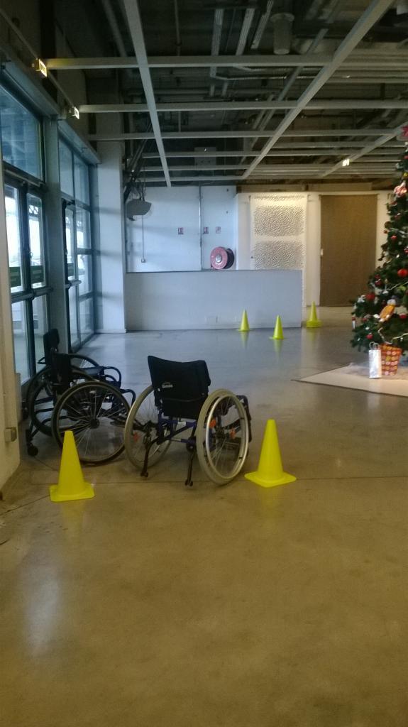 Parcours fauteuil