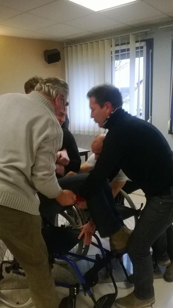 technique transfert de fauteuil