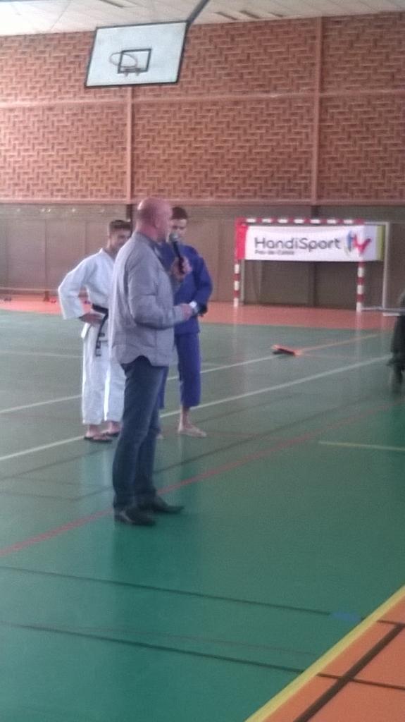 Présentation du judo handisport