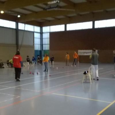 Boccia Jeunes - 26 novembre 2014 - Allouagne