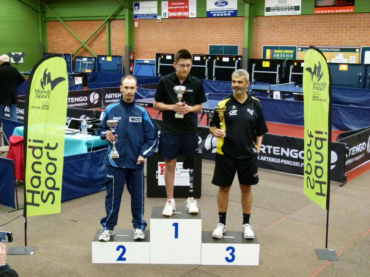 3eme tour nationale 3 tennis de table handisport - Ligue du nord pas de calais de tennis de table ...