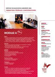 Fiche catalogue cqh module a