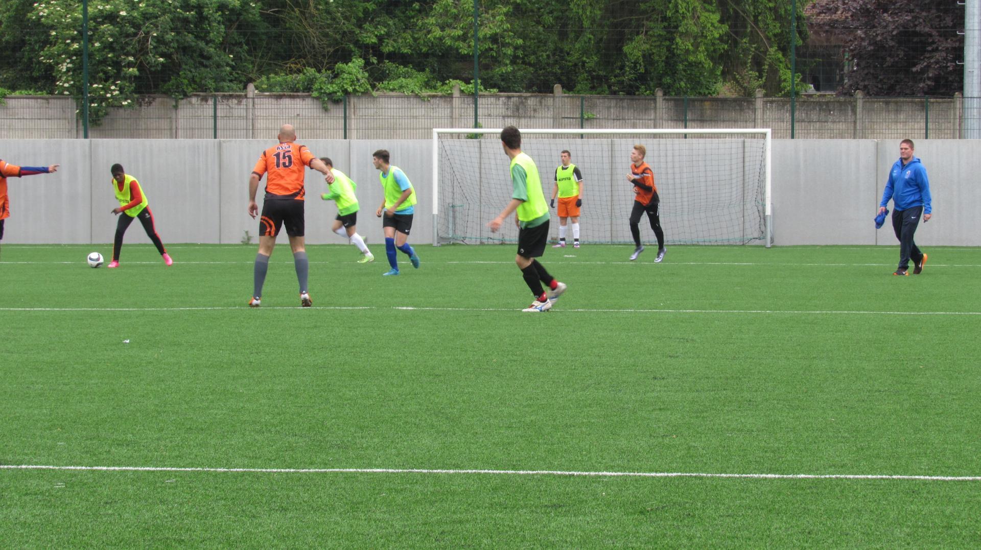 Match amical AS Sourds Arras/Sport Adapté