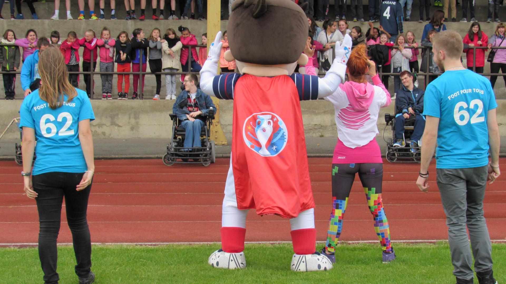 Flashmob EURO 2016 sport/santé