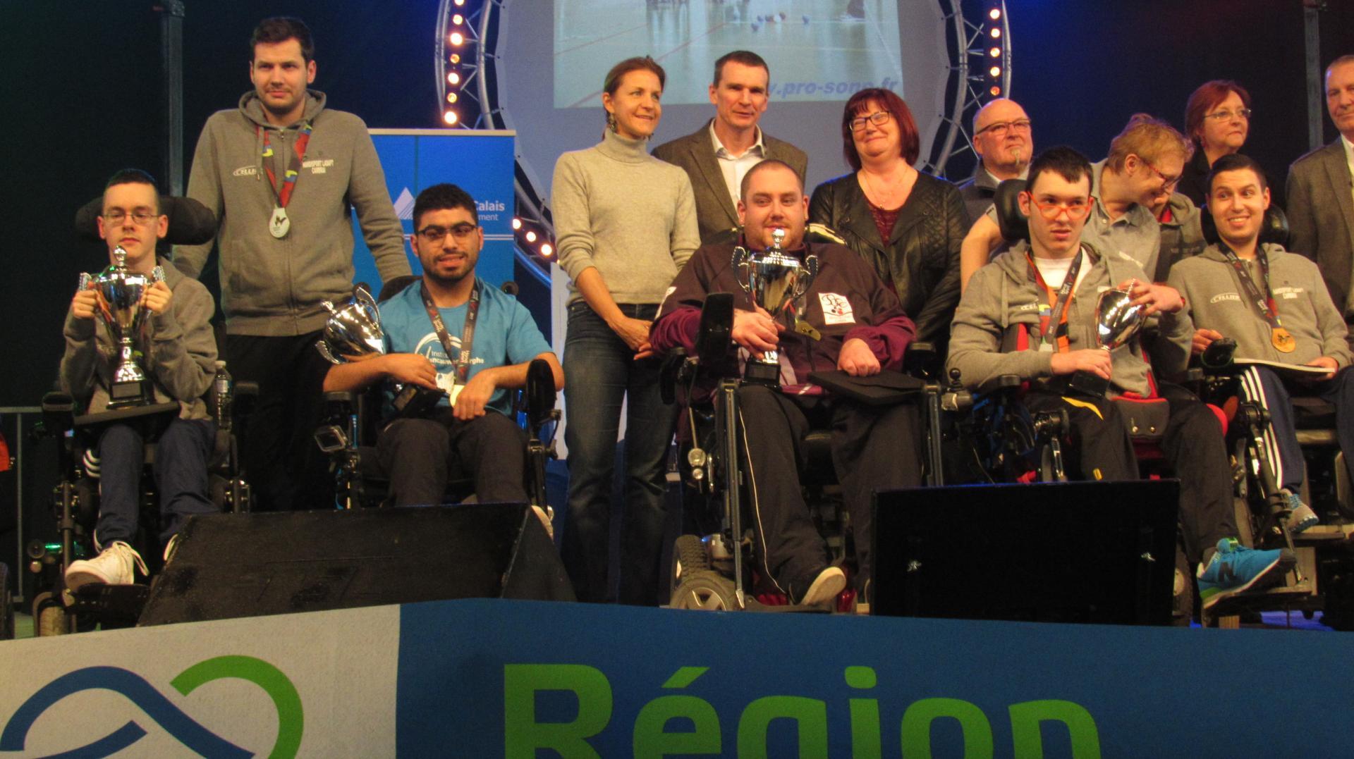 Nos 4 Champions de France du Nord-Pas-de-Calais !